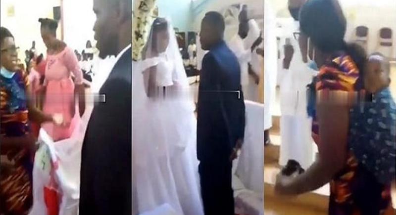 أخبر زوجته أنه ذاهب إلى العمل فأمسكت به مع عروس ثانية !