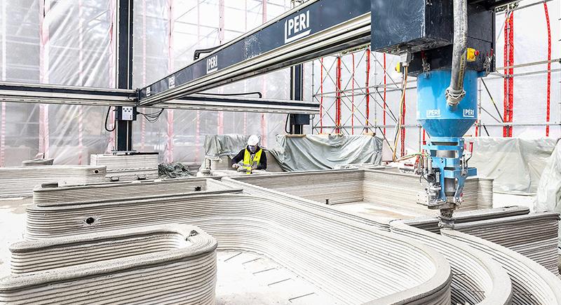 ألمانيا تشيّد أكبر مبنى في أوروبا بإستعمال الطباعة ثلاثية الأبعاد