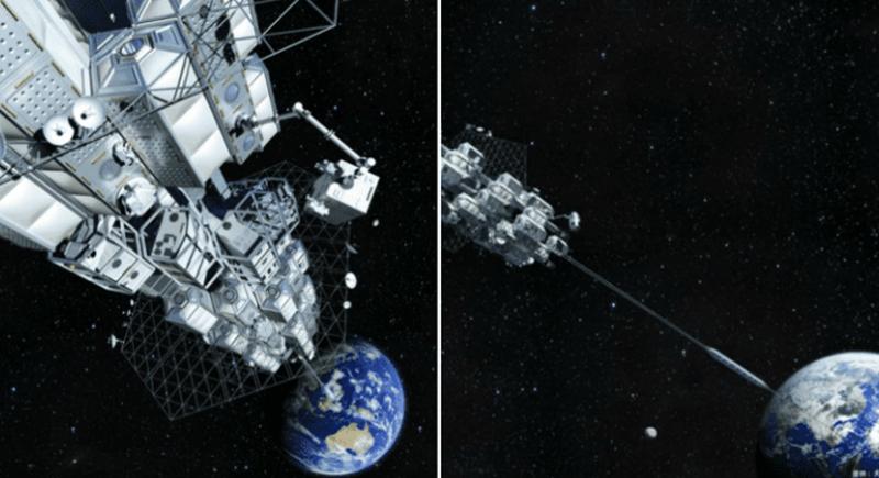 'فكرة خيالية' في ذهن العلماء.. مصعد مباشر من الأرض إلى القمر
