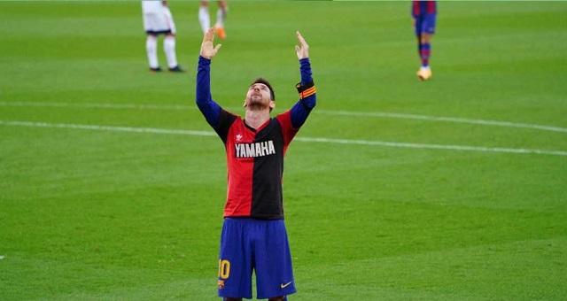 برشلونة يسحق أوساسونا برباعية.. وميسي يهدي هدفه لروح مارادونا