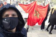 مغاربة أشبيلية يفشلون محاولة يائسة للبوليساريو للاشتباك بهم أمام قنصلية بلادهم