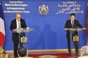 بوريطة ولودريان يؤكدان على الشراكة الاستثنائية القائمة بين المغرب وفرنسا