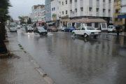 التساقطات المطرية تغرق شوارع البيضاء وتكشف ضعف البنية التحتية