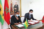 المغرب وساوتومي وبرنسيب يوقعان على خارطة طريق للتعاون