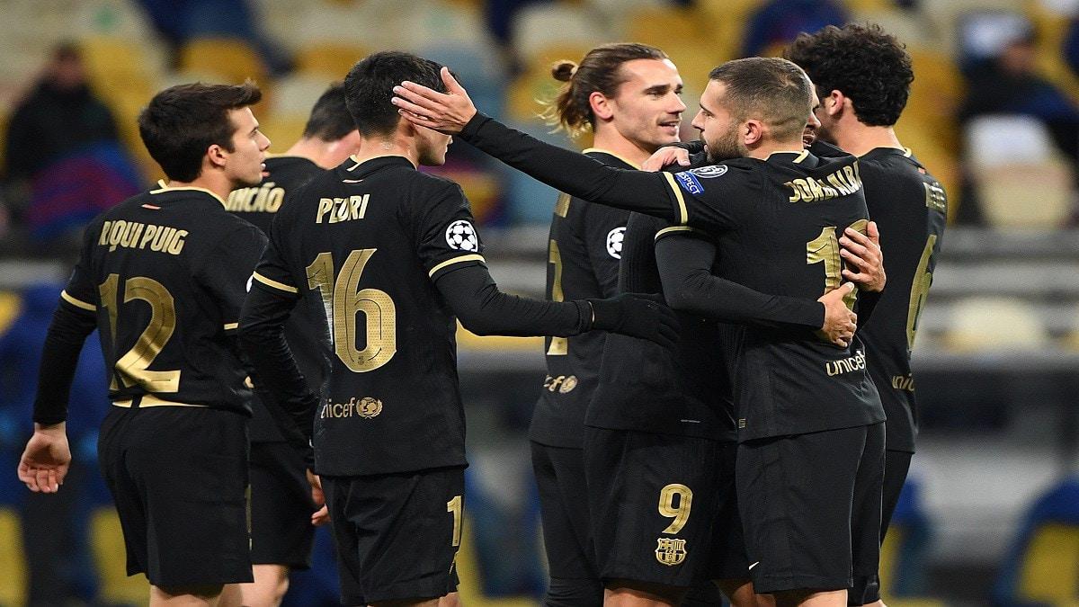 بالفيديو.. برشلونة يقهر دينامو كييف ويتأهل لثمن نهائي دوري الأبطال