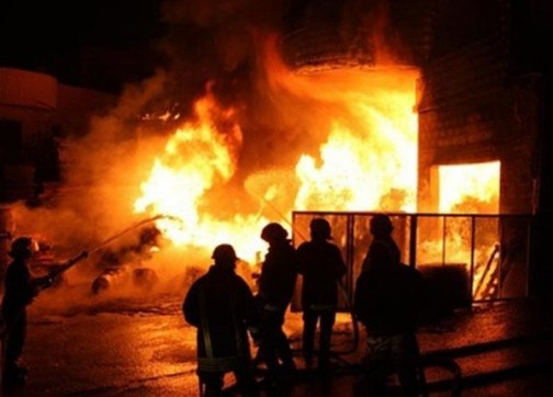 وسط خسائر كبيرة.. اندلاع حريق بسوق السمارة بسلا (صور)