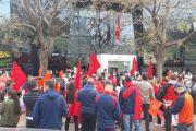 """في وقفة احتجاجية.. مغاربة فالنسيا يدينون الممارسات الاستفزازية لـ """"البوليساريو"""""""