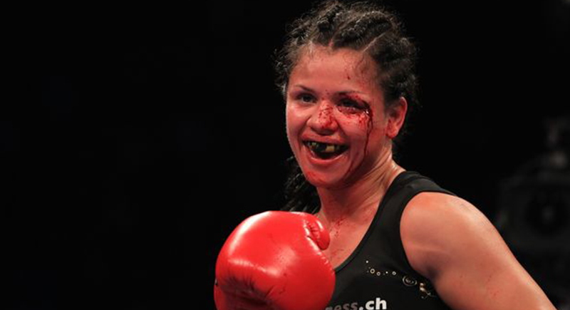 ملاكمة شهيرة تضرب زوجها حتى الموت