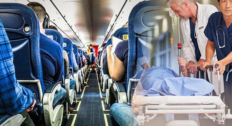 ماذا يحدث عندما يموت مسافر على متن الطائرة؟.. مضيفة تجيب