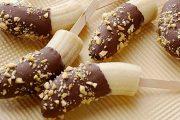 طريقة عمل أصابع الموز بالشوكولاتة
