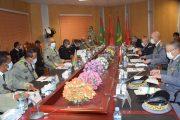 انعقاد الاجتماع الثاني للجنة العسكرية المشتركة الموريتانية – المغربية