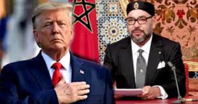ترامب يمنح الملك محمد السادس وسام الاستحقاق المرموق