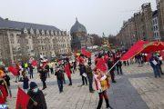 في مظاهرة.. مغاربة بلجيكا ولوكسمبورغ يدينون الممارسات الاستفزازية