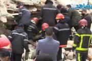 انهيار 3 منازل بالمدينة القديمة والبحث جار لإنقاذ مفقود من تحت الأنقاض