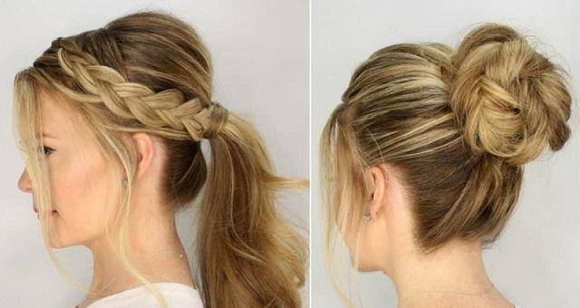 تسريحات شعر سهلة وبسيطة لإطلالة مميزة