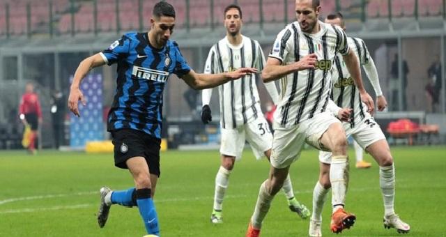 موعد مباراة يوفنتوس وإنتر ميلان في نصف نهائي كأس إيطاليا