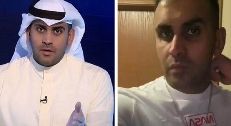 مذيع كويتي يعلن ارتداده عن الإسلام واعتناق المسيحية على الهواء مباشرة! (فيديو)