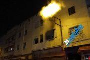 البيضاء.. حريق يلتهم شقة بالحي المحمدي (صور)