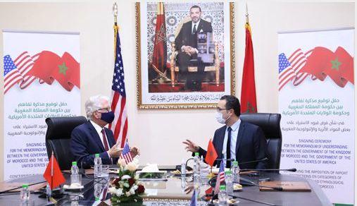 توقيع مذكرة تفاهم بين المغرب وأمريكا بشأن الحفاظ على التراث الثقافي المغربي