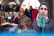 بالفيديو.. أسر بالحي المحمدي تبيت في العراء خوفا من انهيار المنازل