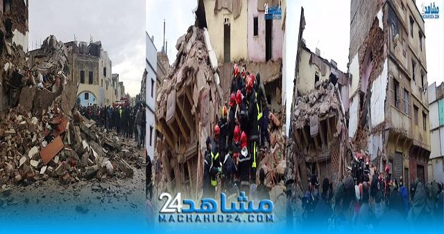 بالفيديو.. تحت أنقاض المنزل المنهار بالحي المحمدي.. استمرار البحث عن ضحايا محتملين