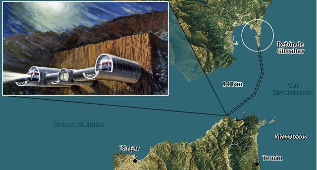 """""""الربط عبر مضيق جبل طارق"""" بين المغرب والقارة الأوروبية يعود إلى الواجهة بعد هذه المستجدات"""