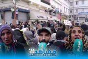 بالفيديو..بعد انهيار المنازل.. سكان درب مولاي الشريف يحتجون ضد السلطات المحلية