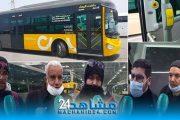 بالفيديو.. بيضاويون يأملون من الحافلات الجديدة وضع حد لمعاناتهم مع النقل.. وهذه رسالتهم للركاب