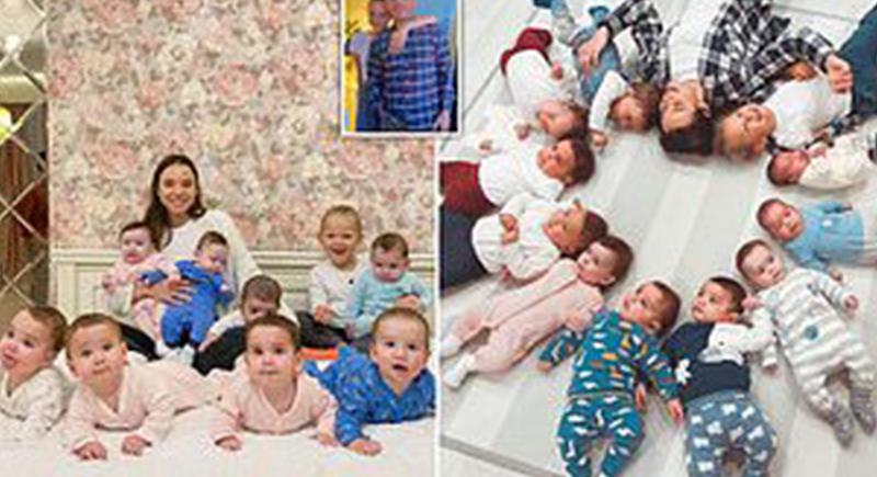 قصة روسية عمرها 23 عاما تنجب 11 طفلا: تخطط لإنجاب 105 آخرين (صور)