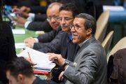 إعادة انتخاب عمر هلال رئيسا لتشكيلة جمهورية إفريقيا الوسطى للجنة تعزيز السلام