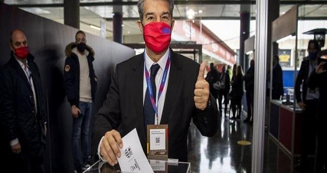 رسميا.. خوان لابورتا رئيسا جديدا لبرشلونة