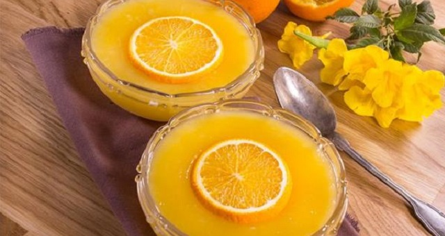 طريقة تحضير مهلبية البرتقال في 5 دقائق