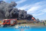 بالصور.. حريق مهول بأشهر ''لافيراي'' بالبيضاء يستنفر الوقاية المدنية