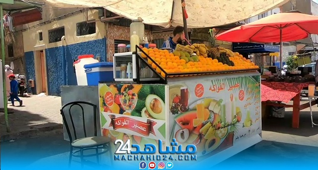 بريكولات (5).. بيع عصير البرتقال قي الشارع