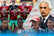 بالفيديو.. بعد تصريحاته المستفزة.. الجمهور يرد على مدرب المنتخب المغربي
