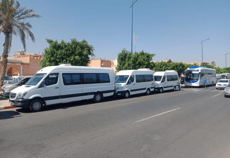 عمال النقل السياحي يطالبون الحكومة بالتدخل لإنقاذهم