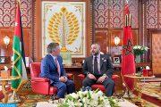 الملك محمد السادس يهاتف ملك الأردن ويطمئن على الأوضاع