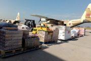 الجيش اللبناني يتسلم دفعة ثانية من المساعدات الغذائية الموجهة بتعليمات ملكية