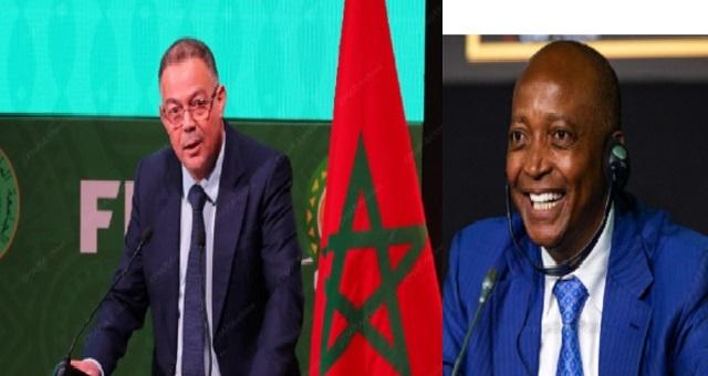 في زيارة له للمغرب.. فوزي لقجع يستقبل رئيس