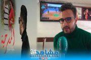 بالفيديو.. الحلوي لمشاهد24: أعشق الغناء بالهندية والتركية.. وأغنية المسرحية قربتني من الجمهور