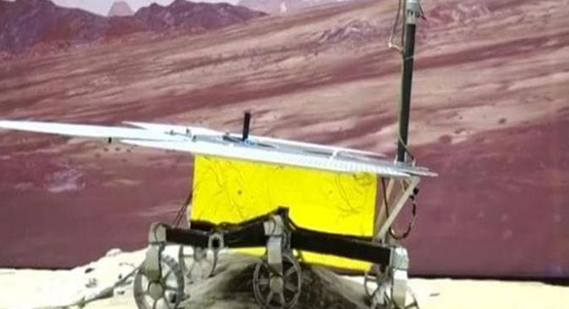لأول مرة.. الصين تنجح في إنزال مركبة فضائية على المريخ