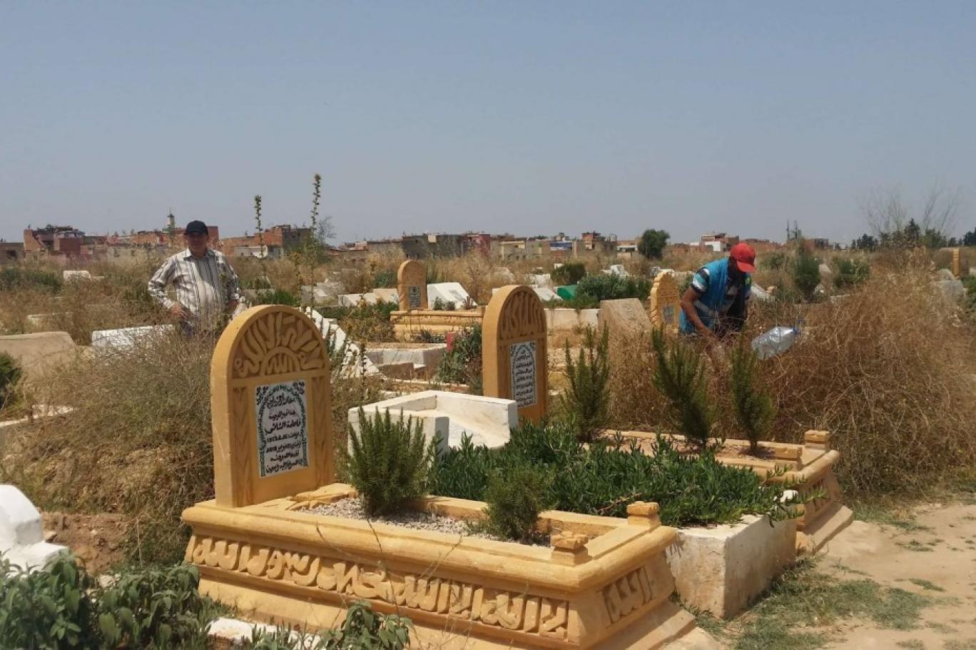 بالصور.. سلطات المحمدية تمنع زيارة المقابر رغم توافد مواطنين