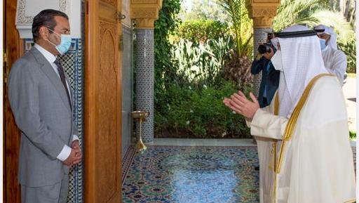 الأمير مولاي رشيد يستقبل وزير الخارجية الكويتي حاملا رسالة إلى الملك