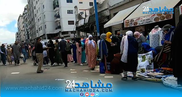 شاهد أجواء كراج علال بالبيضاء في بداية العشر الأوائل من رمضان