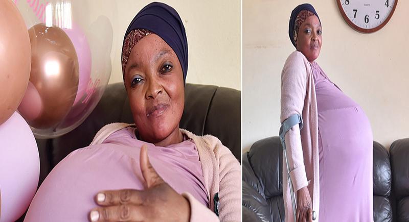 سيدة من جنوب أفريقيا تنجب 10 توائم وتدخل موسوعة