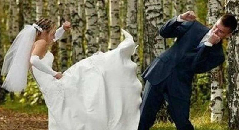 حاصلة على الحزام الأسود.. عروس تعتدي على عريسها بالضرب بعد يوم واحد فقط من حفل الزفاف