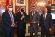 الدبيبة والوفد الليبي يحظون باستقبال خاص بالبرلمان