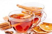 شاي بارد بالقرفة والبرتقال