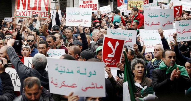 الجزائر.. النظام العسكري يتمادى في القمع لتمرير الانتخابات