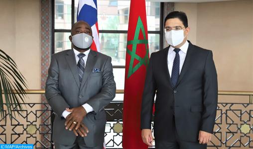 المغرب يثمن الموقف الواضح والثابت لليبيريا حول قضية الصحراء